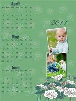 fotokalendarz z roku 2011